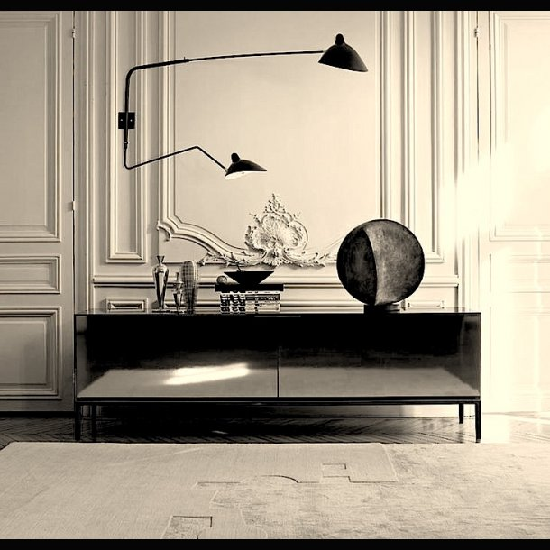 lampe serge mouille 2 armet v glampe 1953 lighting. Black Bedroom Furniture Sets. Home Design Ideas